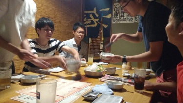 As usual, my lab mates took me to an awesome place with tons of food.