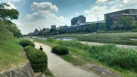 NIce canal, Kyoto.