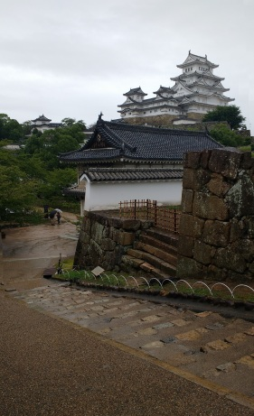 Himeji is one of the few historic castles in Japan that isn't a modern reconstruction of a previously destroyed landmark.