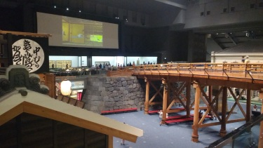 The museum has full scale models and awesome diaramas explaining the history of the city from the Edo period up to today.
