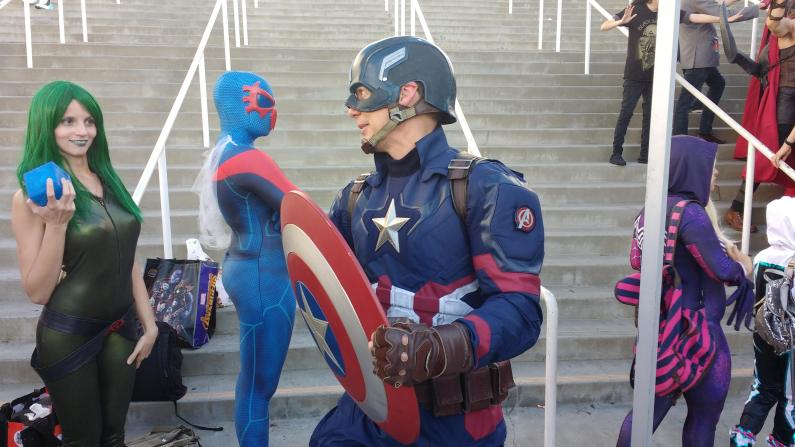 Best Captain America I saw all weekend.